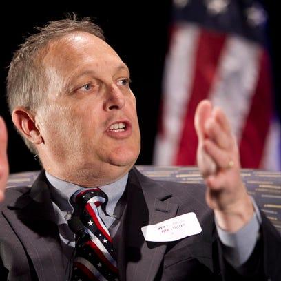 State Senate President . Andy Biggs