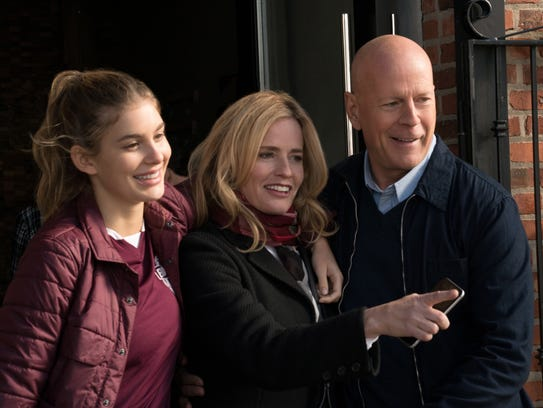 A happy family before the tragedy of 'Death Wish':