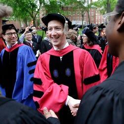 Read the full text of Mark Zuckerberg's Harvard graduation speech
