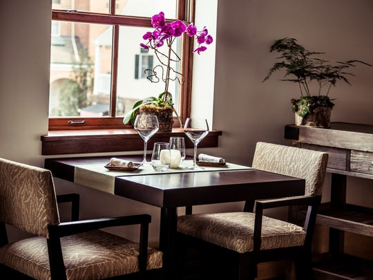 The Elements dining room is small (just 28 seats), making for an intimate experience.