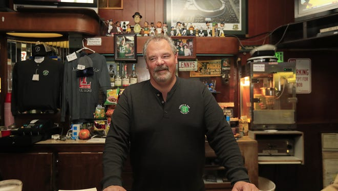 Owner Marty Leonhard and his Broadway bar, Lenny's Tap, were featured in an ESPN segment about Green Bay and the Packers that aired on Sunday.