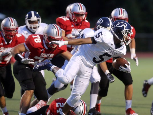 Somers vs. Poughkeepsie football