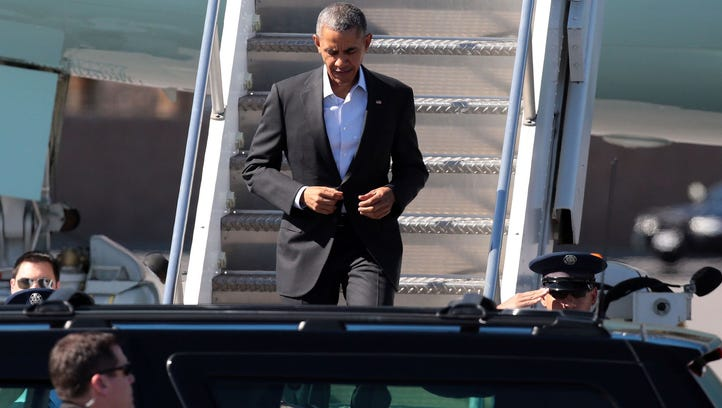 President Obama arrived on Friday, but his diplomatic