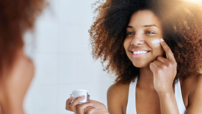 Be sure to use skin-care products regularly to see results.