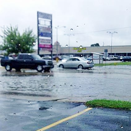 Flooding on Bissonnet at Fondren in SW Houston; send your weather pics to photos@khou.com