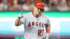 Mike Trout is a two-time AL MVP.