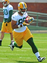 Rookie tight end Richard Rodgers has impressed so far this offseason.