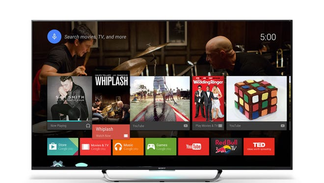 The 65-inch Sony X850C Ultra HDTV is a 4K high-definition set with an Android operating system on board.