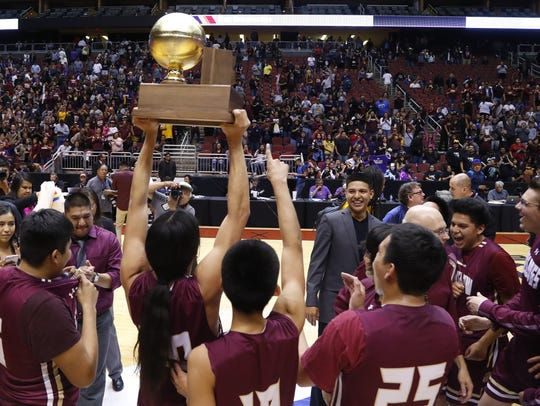 1 title since 1985: Winslow | Took home the 3A state