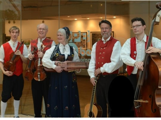 Step into the world of Norwegian and Swedish folk dance music with Fossegrimen 2:30 p.m. Saturday, March 21, at the Salem Public Library.