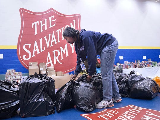 Caring ford staffers key to salvation army yule efforts for Ford motor company human resources