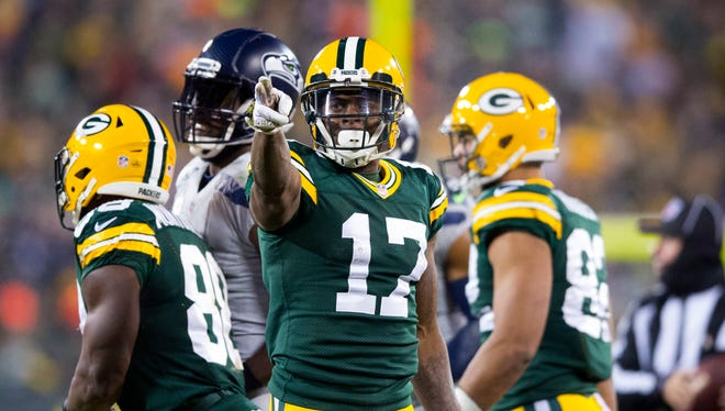Wide receiver Davante Adams and the Green Bay Packers will play the Detroit Lions on Sunday for the NFC North title and a spot in the playoffs.