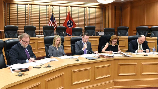 A special committee tasked with making recommendations on updating the General Assembly's sexual harassment policy concluded its work on Thursday, April 7, 2016. The committee is: Jeff Parrish, attorney; Allison Duke, associate dean of the College of Business at Lipscomb University; Doug Himes, legislative attorney; Dianne Neal, attorney; and Frank Gibson, public policy director for the Tennessee Press Association.