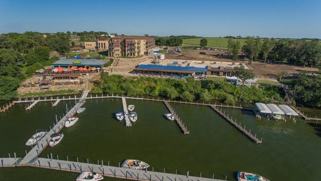 Bracco and the Waterfront Events Center are along the lake at Bridges Bay on East Okoboji Lake in Arnolds Park, Iowa.
