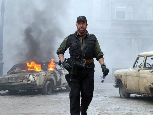 EXPENDABLES CHUCK NORRIS