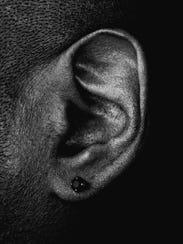 Detroit techno legend Juan Atkins -- his ear, to be