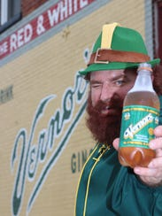 Mike Novak, of Blissfield, is the Vernors Gnome.