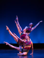 Members of Dance Kaleidoscope perform a routine. The