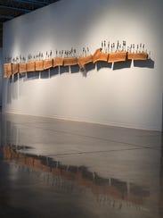 "In ""Bloodline,"" Oklahoma artist Holly Wilson, a Delaware"