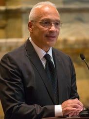 U.S. District Court Judge Gonzalo P. Curiel, an Indiana