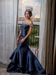 Miss World Guam 2017 Destiny Cruz poses for the camera