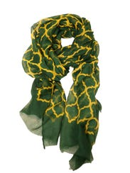 Lady ducks can don their school colors with this scarf,