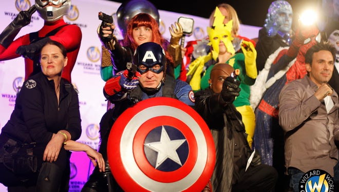 The Wizard World convention will feature professional cosplayers, and attendees are invited to show off their own cosplay skills, as well.