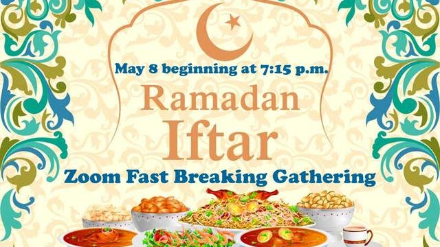 Peace Lutheran Church of Spring Hill will host a Ramadan fast breaking Iftar service for Christians and Muslims to gather and learn about each other's particular faiths, traditions and customs. Since the COVID-19 crisis has prevented in-person gatherings, the program will be streamed over Zoom starting at 7:15 p.m. Friday.