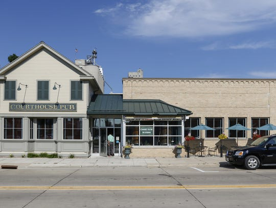 FILE - Courthouse Pub in downtown Manitowoc.