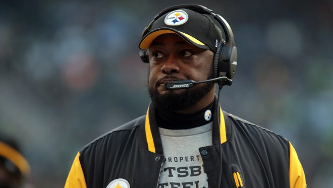 Mike Tomlin's first visit to Seattle as coach of the Steelers didn't go as planned.