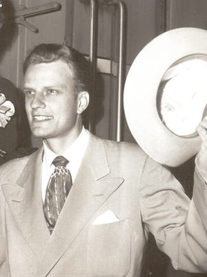 The Rev. Billy Graham in a file photo.