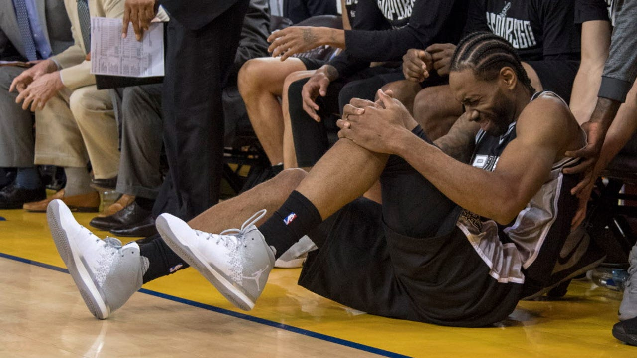 Spurs in trouble if Kawhi Leonard misses time