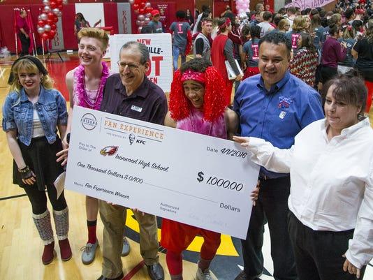 Ironwood wins Arizona Sports Awards Best Basketball Fan Experience