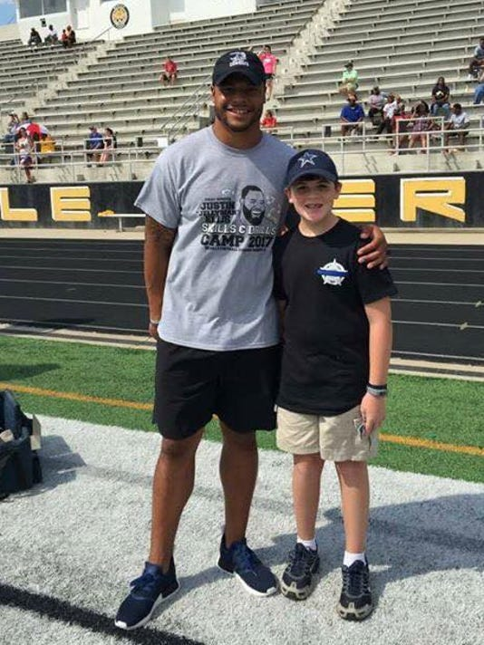 Son Of Fallen Deputy Surprised With A Chance To Meet Dak
