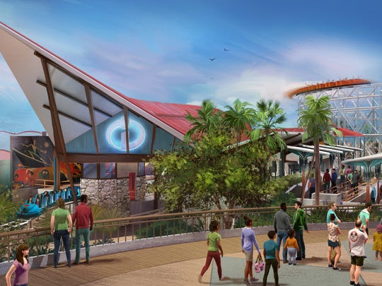 The new Incredicoaster will feature a mid-century look