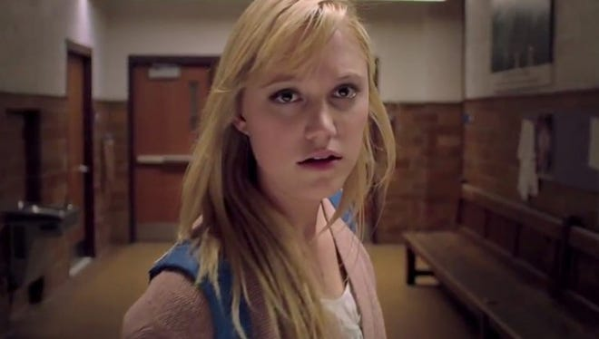 """In """"It Follows,"""" Maika Monroe plays Jay, a young woman stalked by an evil force that takes human shape."""