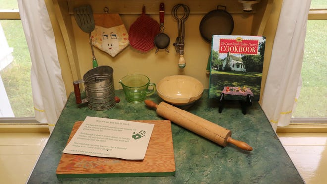 The Laura Ingalls Wilder house and museum in Mansfield, Missouri.