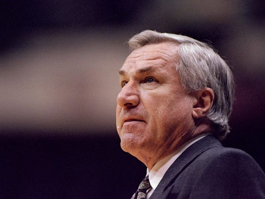 FILE: Famed UNC Coach Dean Smith Dies At 83