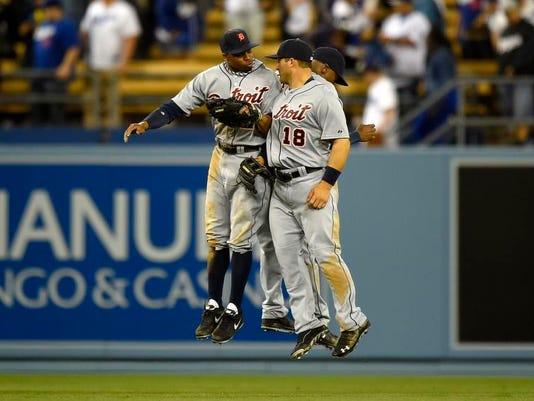 Tigers Dodgers Baseball