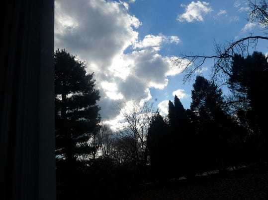 """Karlene Wilson of Springettsbury Township submitted this photo to the YDR Nature and Scenery gallery Apr. 2. Wilson writes, """"Result after a dark afternoon!!""""  Submitted"""