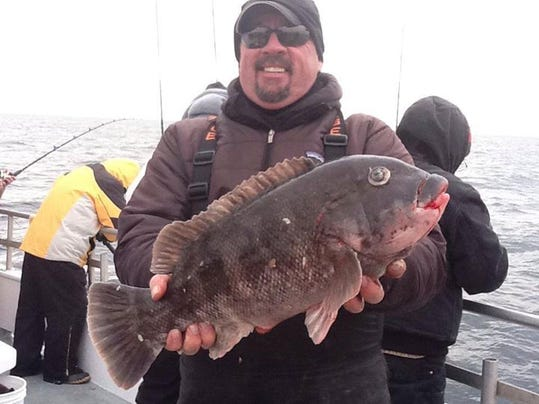 Blackfish still biting but ling hard to find for Big mohawk fishing boat