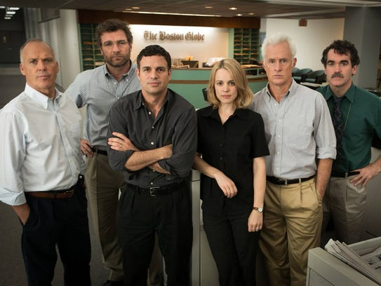 """The 2015 film """"Spotlight"""" was based on the true story"""