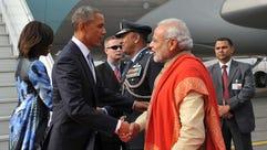 Indian Prime Minister Narendra Modi and President Obama