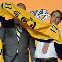 Predators' first-round pick on playoff run:  'That would be unreal to play there'