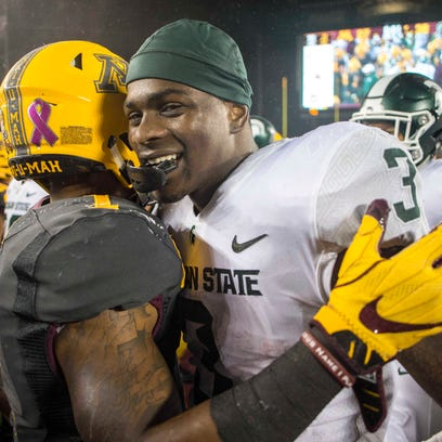 Couch: LJ Scott can be Le'Veon Bell and carry Michigan State, if he doesn't drop the ball