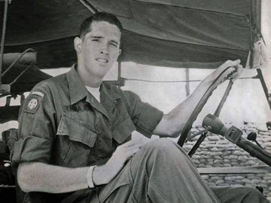 David Carden served as a medic in Vietnam after volunteering for the draft in 1968.