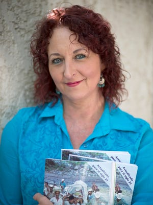 A portrait of Laura Libman, President of the Tia Foundation. She holds some of the medical supplies she will bring on her next trip to rural Mexico.