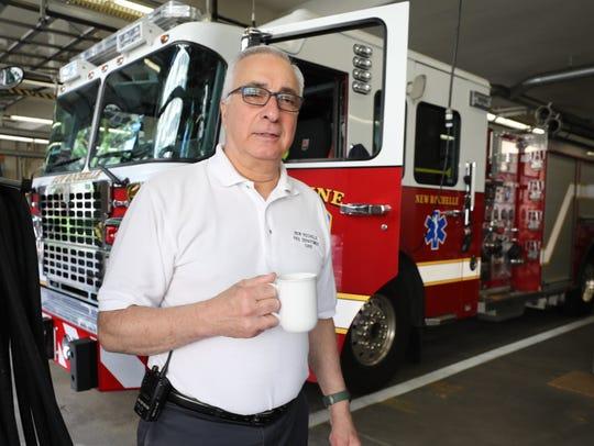 New Rochelle fire chief Louis DiMeglio is retiring