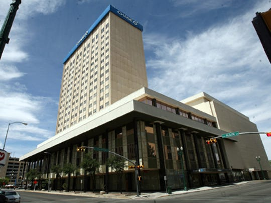 The 18-story One San Jacinto Plaza office building was purchased in 2007 by the Borderplex Realty Trust.
