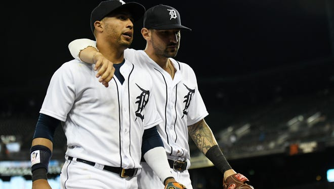 Leonys Martin, who was traded to the Indians last month, Face-timed with manager Ron Gardenhire and former Tiger teammates on Sunday. Martin was released on Monday from the Cleveland Clinic after battling a near-fatal bacterial infection.